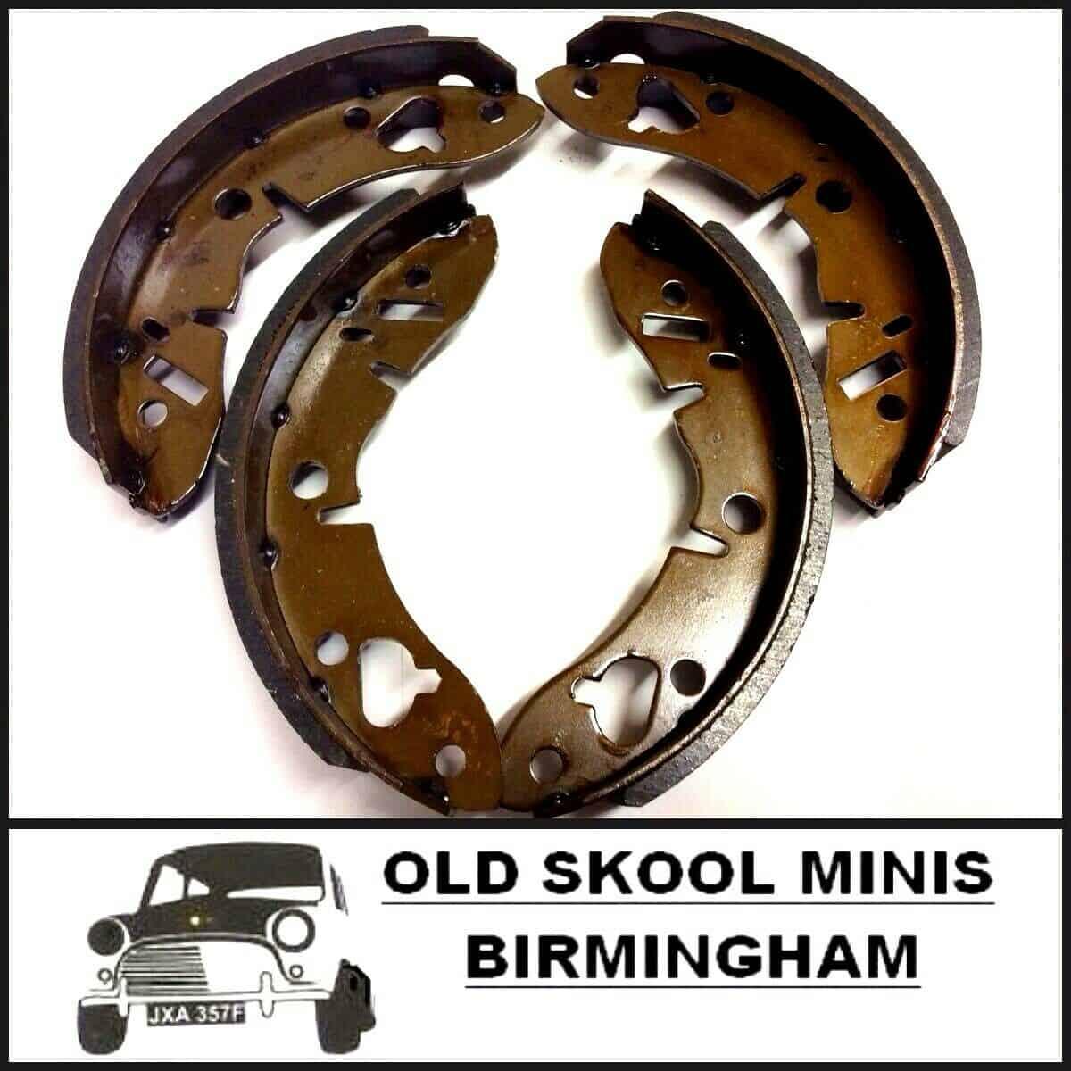 Classic Mini handbrake lever boot for backplate 17H7612 Rover Morris Austin